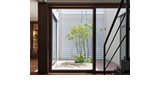 Genuine wooden sash 木製サッシ